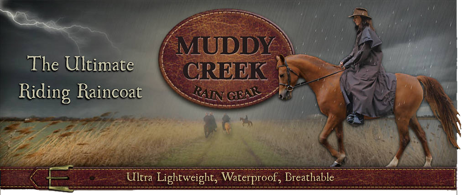 Muddy Creek Rain Gear banner