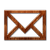 Wood Email icon
