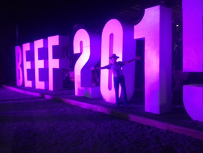Beefing it up at Beef 2015