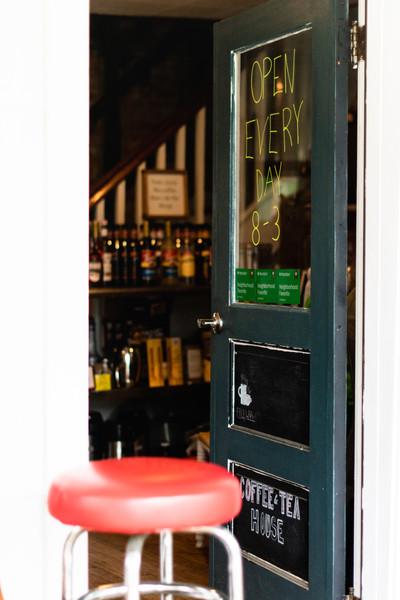 Back Street Brews Door