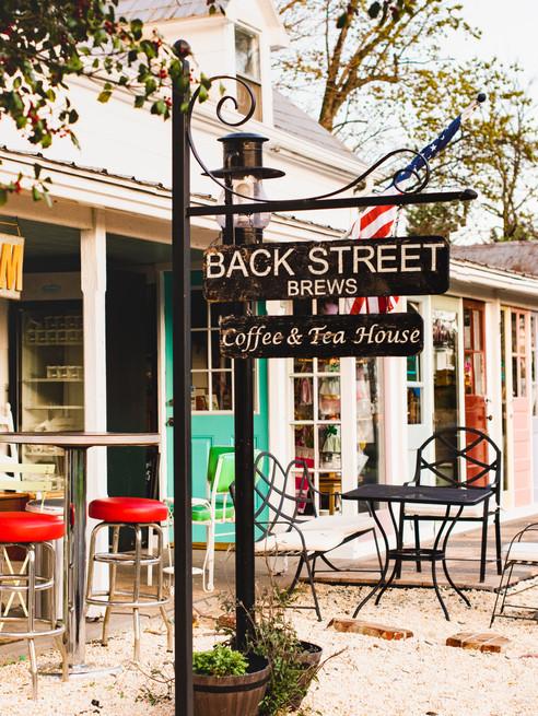 Back Street Brews, Coffee and Tea Shop Sign, Lovettsville, Virginia