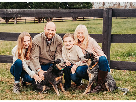 A Family Photography Session in Lovettsville, Virginia