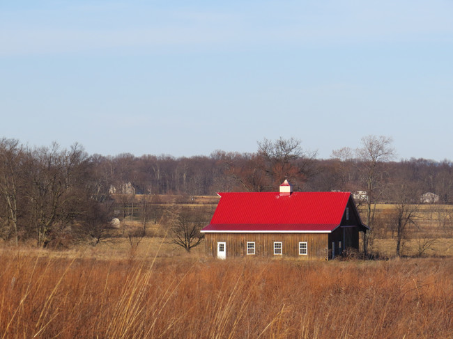 Red Roofed Barn, Purcellville, Virginia