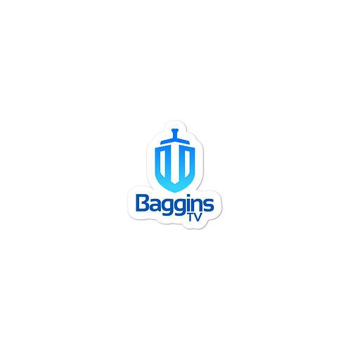 BagginsTV Vinyl Sticker