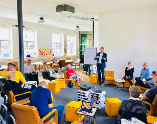 Presentation Area @Coworkingloft