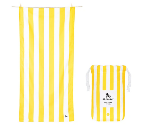Dock & Bay Towel L - Lemon