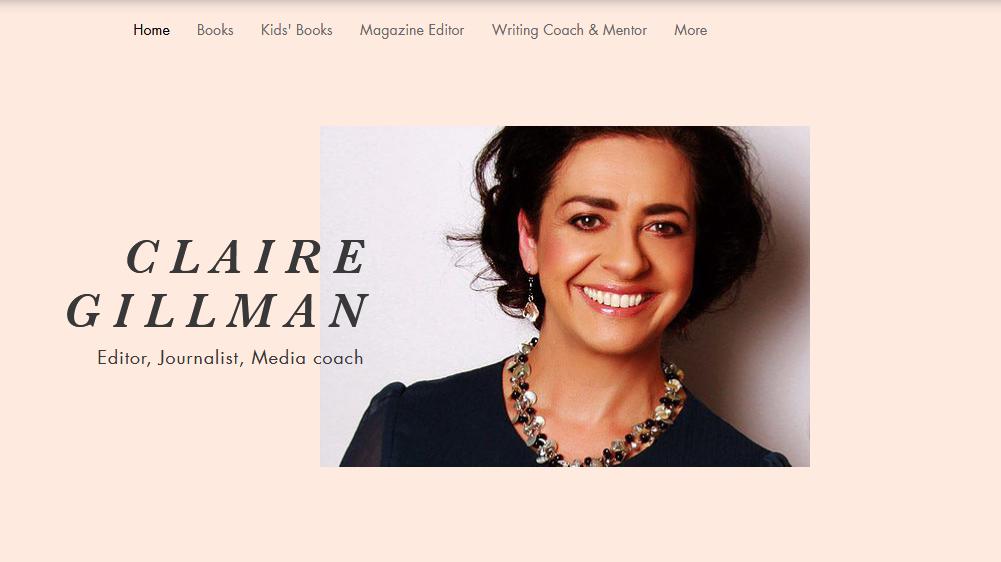Claire Gillman Editor Writer Writing Coach Mentor Magazines