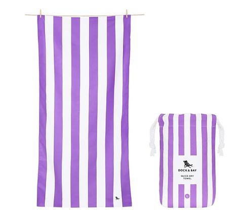 Dock & Bay Towel L - Purple