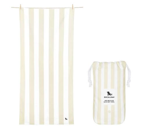 Dock & Bay Towel XL - Beige