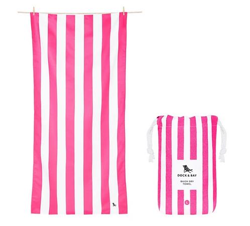 Dock & Bay Towel L - Pink