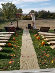 Back Yard Ceremony Option