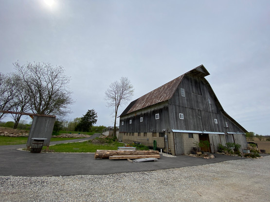 Front of Barn from Drive