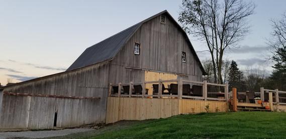 Back of Barn