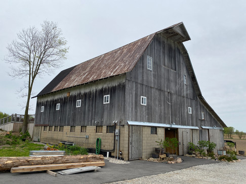 Front Left of Barn