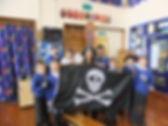 Sara Starbuck author of The Dread Pirate Fleur - Primary school book talk