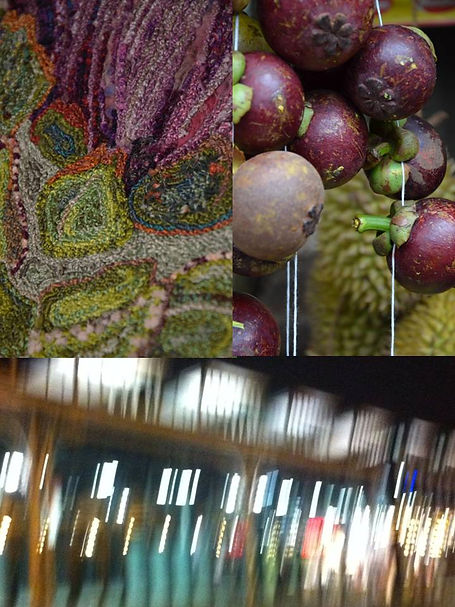 Fleur d'artichaut brodée, coussin, pièce unique, art textile