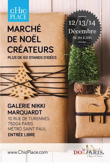 Marché de créateurs Chic Place dec.2015