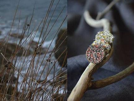 Bague Little Grden Nod's - bijoux textiles