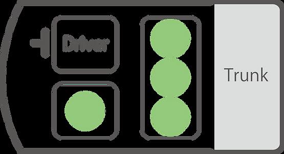 クラウンロイヤルサルーン 座席図