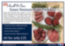 Venison Pack Offer Feb March - social me