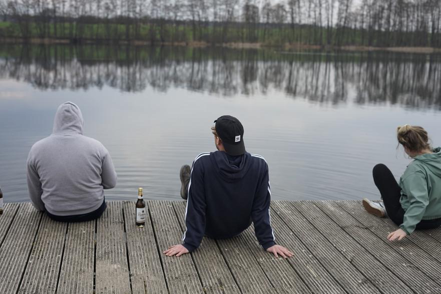 Gemütlichkeit am Naugartner See
