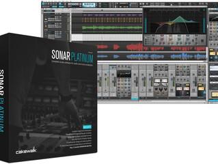 最新版が永久に無料!!SONAR Platinum 期間内に購入するとライセンスが無期限に!!