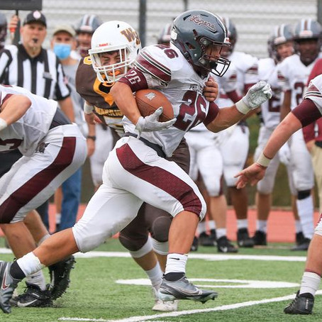 Phillipsburg football lets late lead slip in program's 1st loss to Watchung Hills