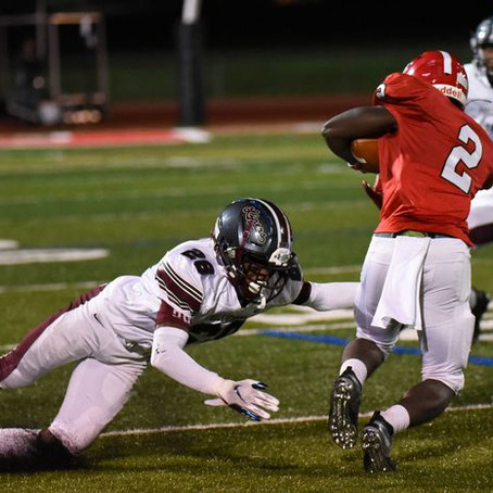 Terrell's 97-yard pick-6 powers Phillipsburg football to victory over Montgomery