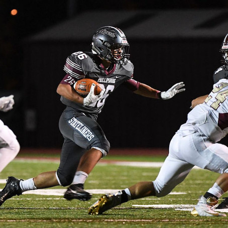 Phillipsburg's Quetel to be most-watched man on football field