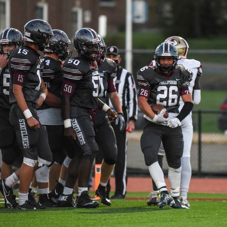 The last first time: Quetel, Phillipsburg football seniors rumble to win at Maloney