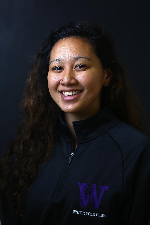 Nicole Sargent of UW Women's Water Polo Club