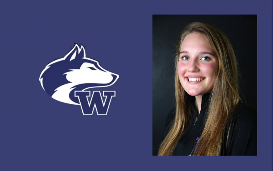 Karli Stevenson of the University of Wasington Water Polo