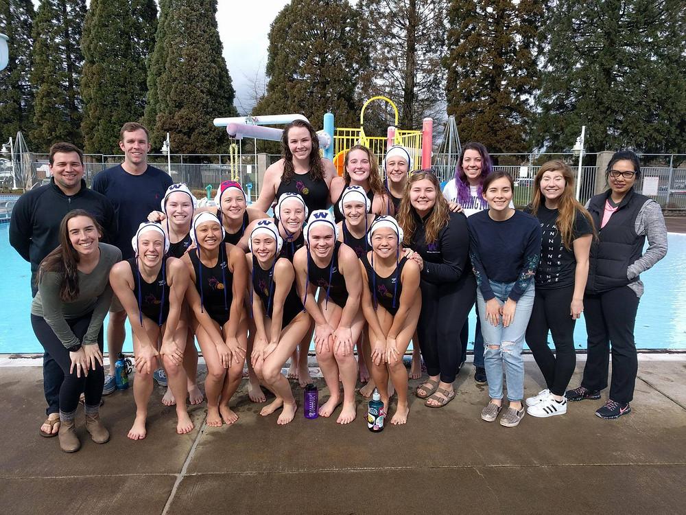 Lady Huskies Water Polo 2017