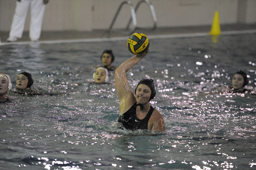 Hannah Sokol converts a 5 meter penalty shot against Oregon State in the Northwest Division tournament