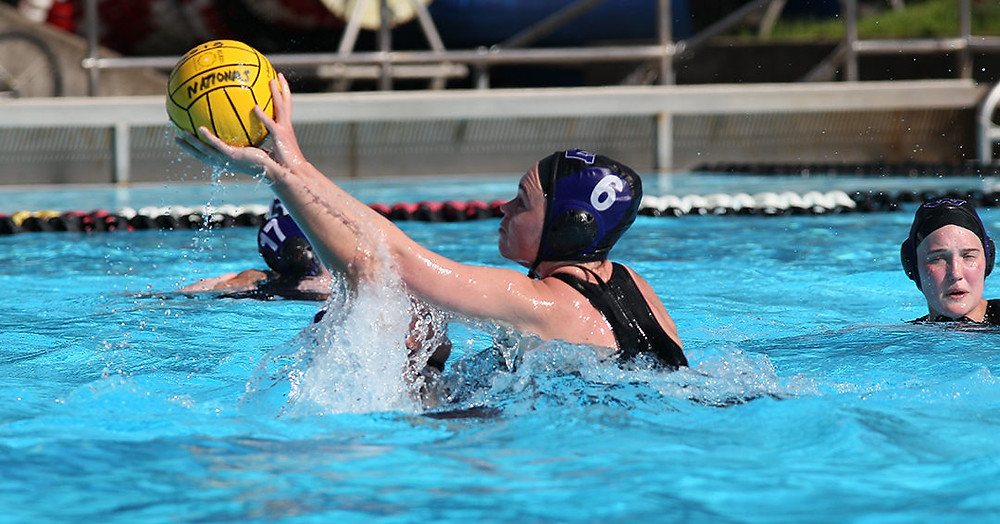 Mary Elizabeth Ward Stealing the ball from Penn State's, Leah Perkins (Photo courtesy of the CWPA)