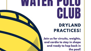 UW Water Polo is back! Come join us for dry land practices