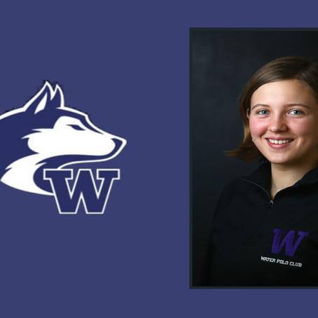 University of Washington's Elizabeth Lipps Named April 10 Northwest Division Player of the Week