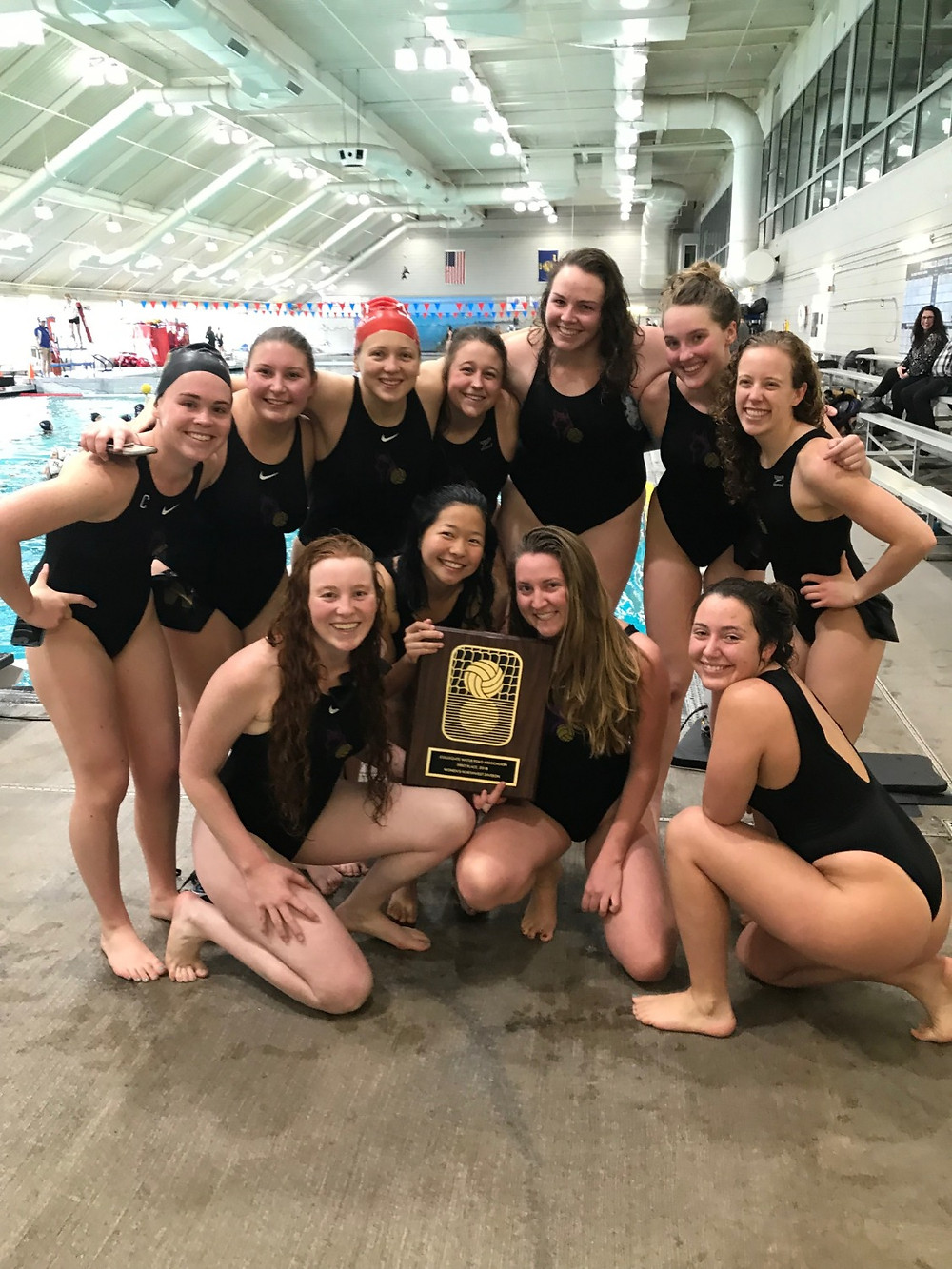 University of Washington Women's Water Polo Northwest Division Champions 2018