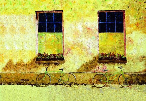 תמונת קנבס - אופניים