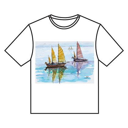 חולצה ב ' בים