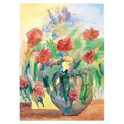 הדפס 9 -פרחים