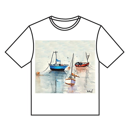 חולצה ג' - סירות