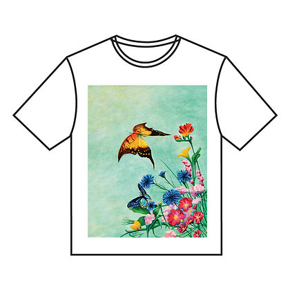 חולצה ב' - פרפרים