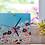 Thumbnail: שעון קיר פרחים