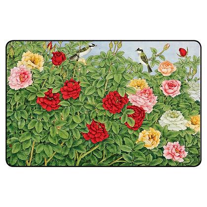 משטח לעכבר ב'- פרחים וציפורים