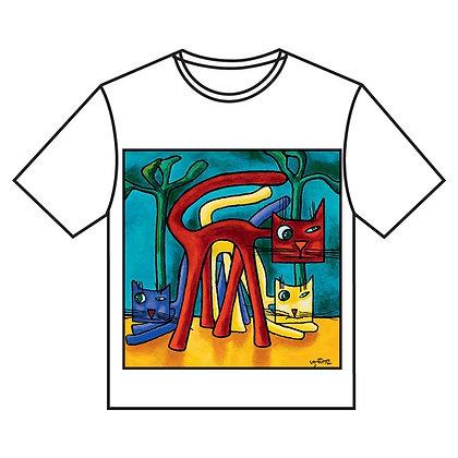 חולצה ג' - 3 חתולים