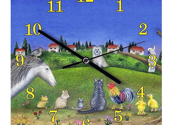 שעון קיר - מי זה צמר?