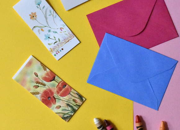 סט כרטיסיות צבעוניות