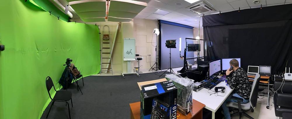 видеостудия хромакей