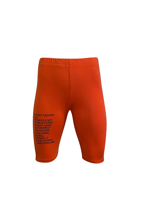 Text Cycling Short